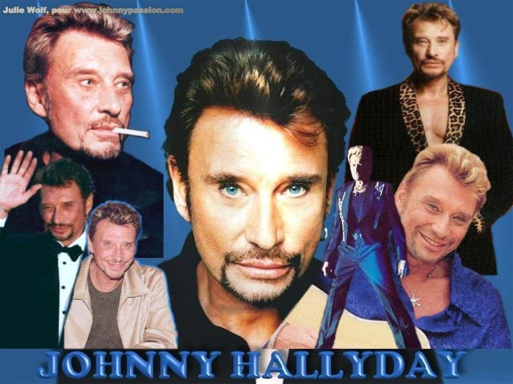 johnny halliday. Black Bedroom Furniture Sets. Home Design Ideas